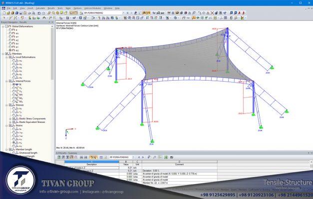 طراحی سازه های چادری
