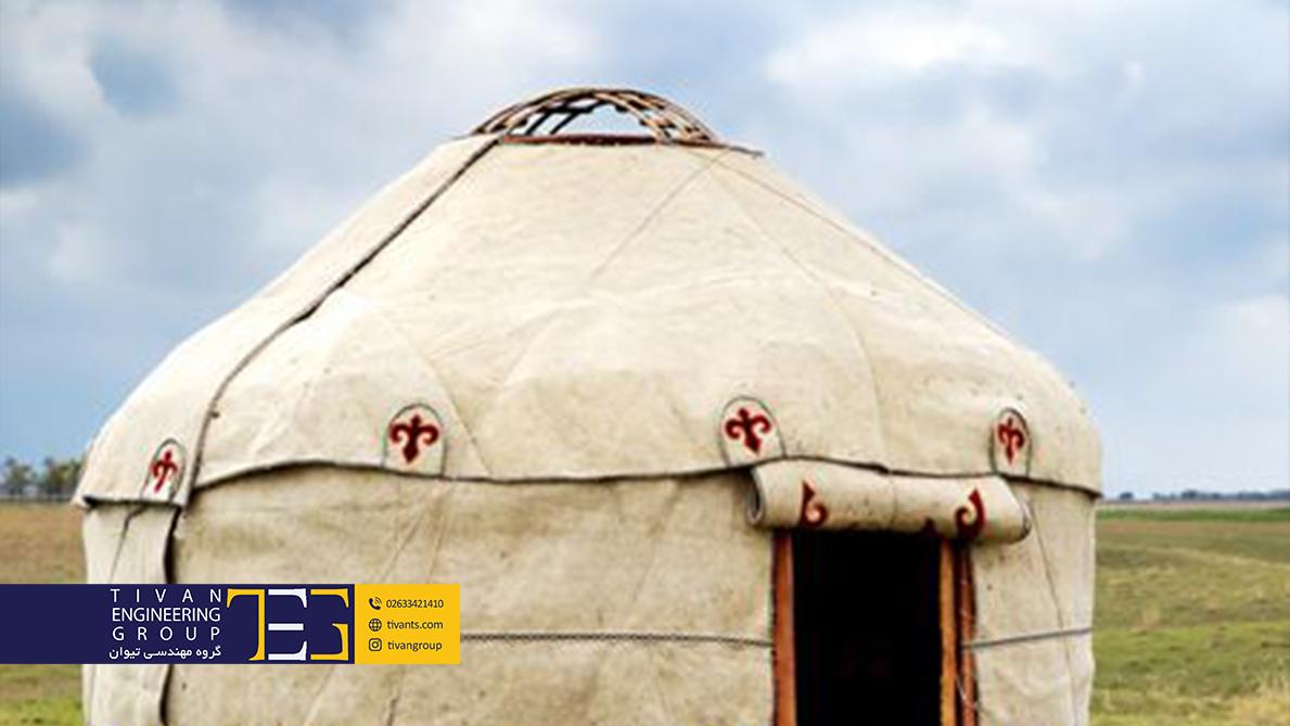 یورت چادری قدیمی