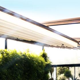 سقف متحرک رستوران صاحبقرانیه