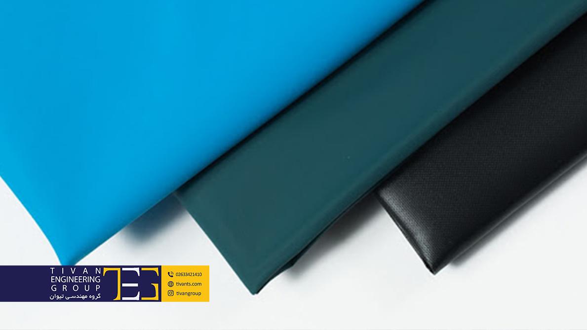 پارچه PVC در سازه های چادری