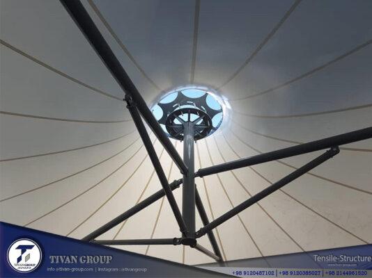 سایبان چادری
