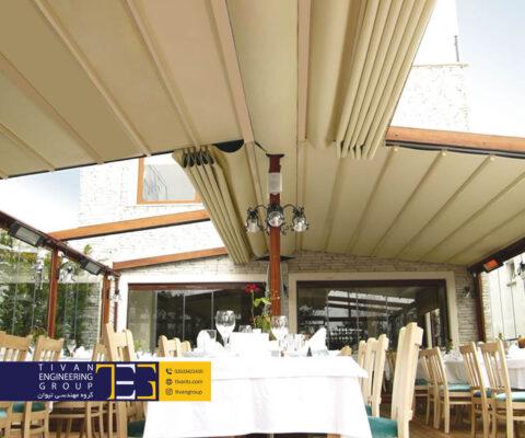 سقف باز شو پارچه ای با بهترین کیفیت