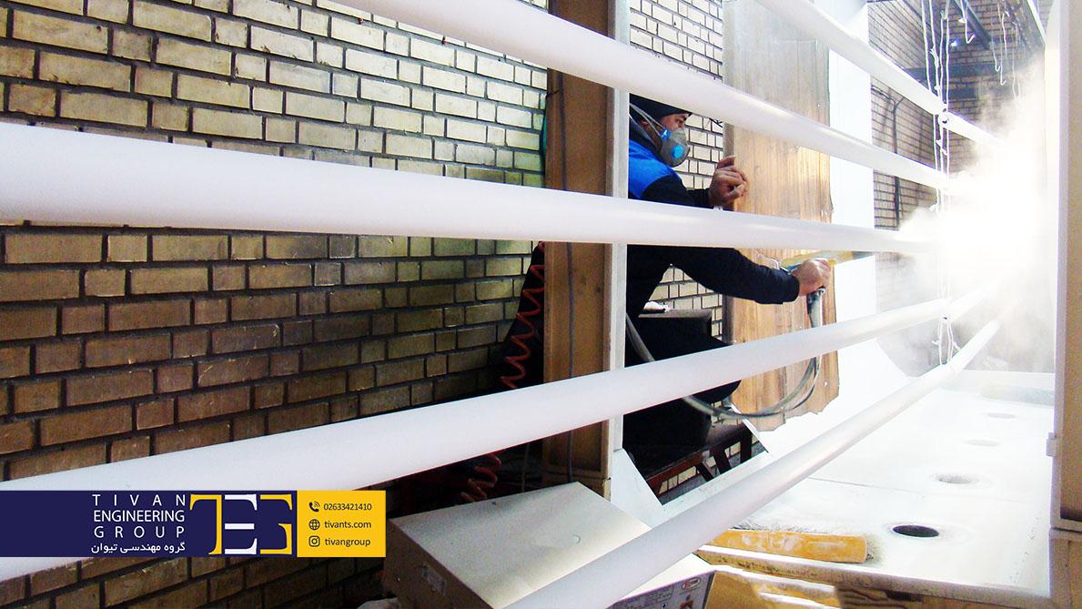 ساخت بزرگترین سازه های چادری در ایران