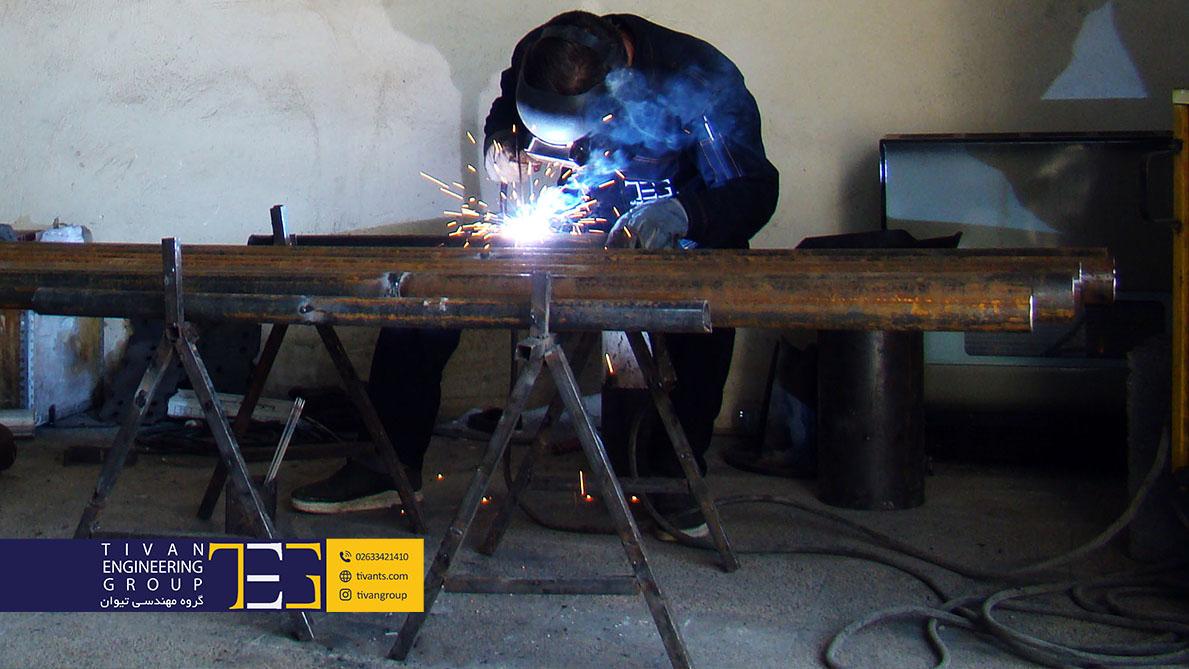 ساخت سازه های پارچه ای در ایران