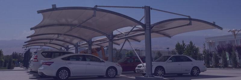 سایبان پارکینگ با بهترین کیفیت و عمر مفید