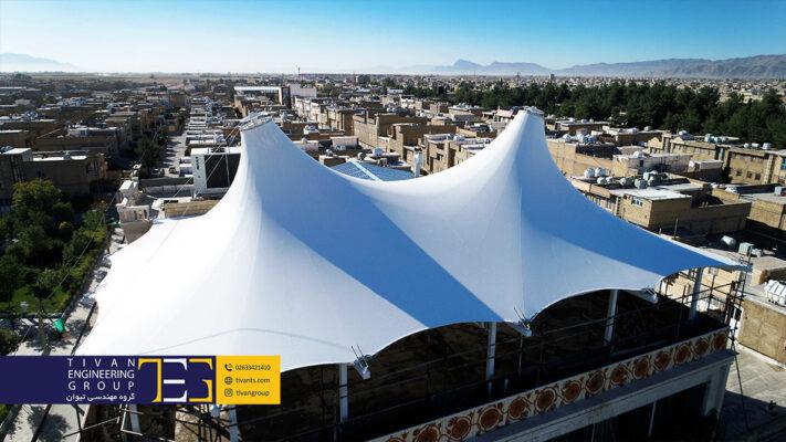 سازه چادری رستوران در معماری
