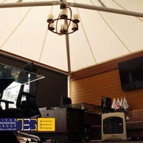 آلاچیق چادری بام سعادت آباد تهران
