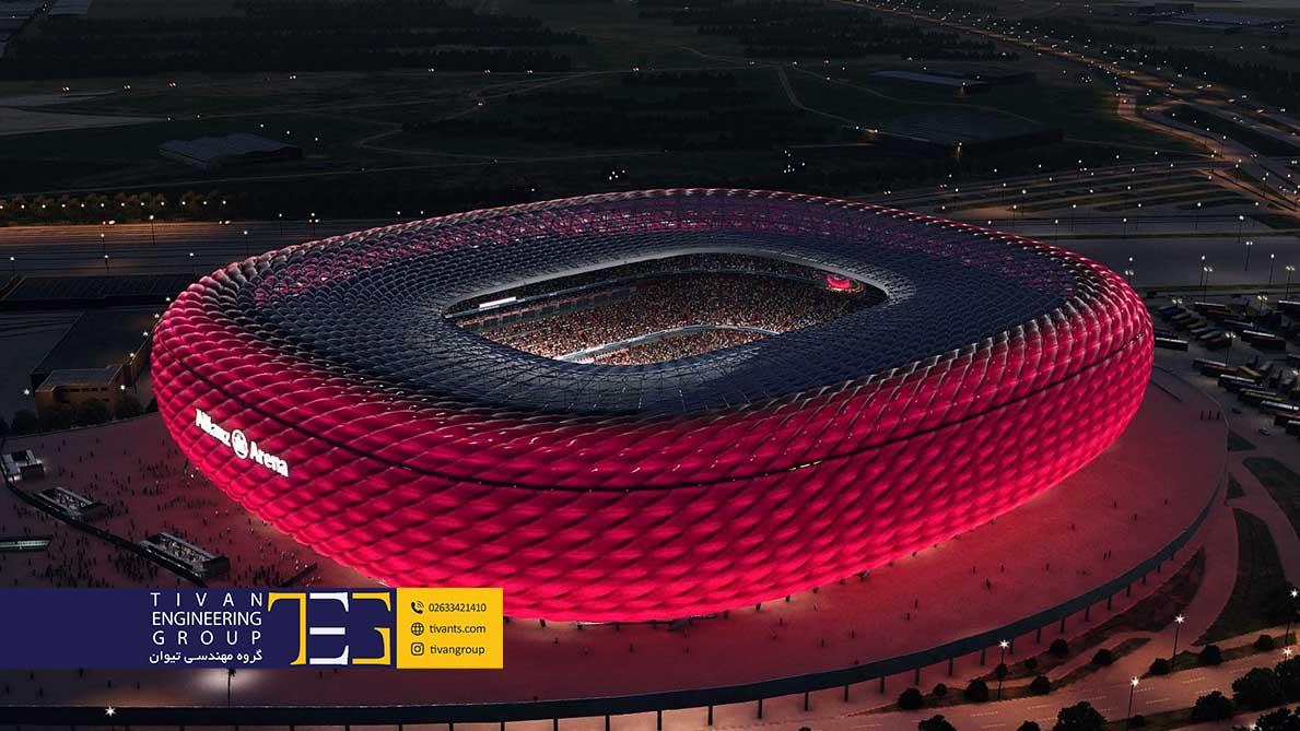 ورزشگاه آرنا مونیخ آلمان