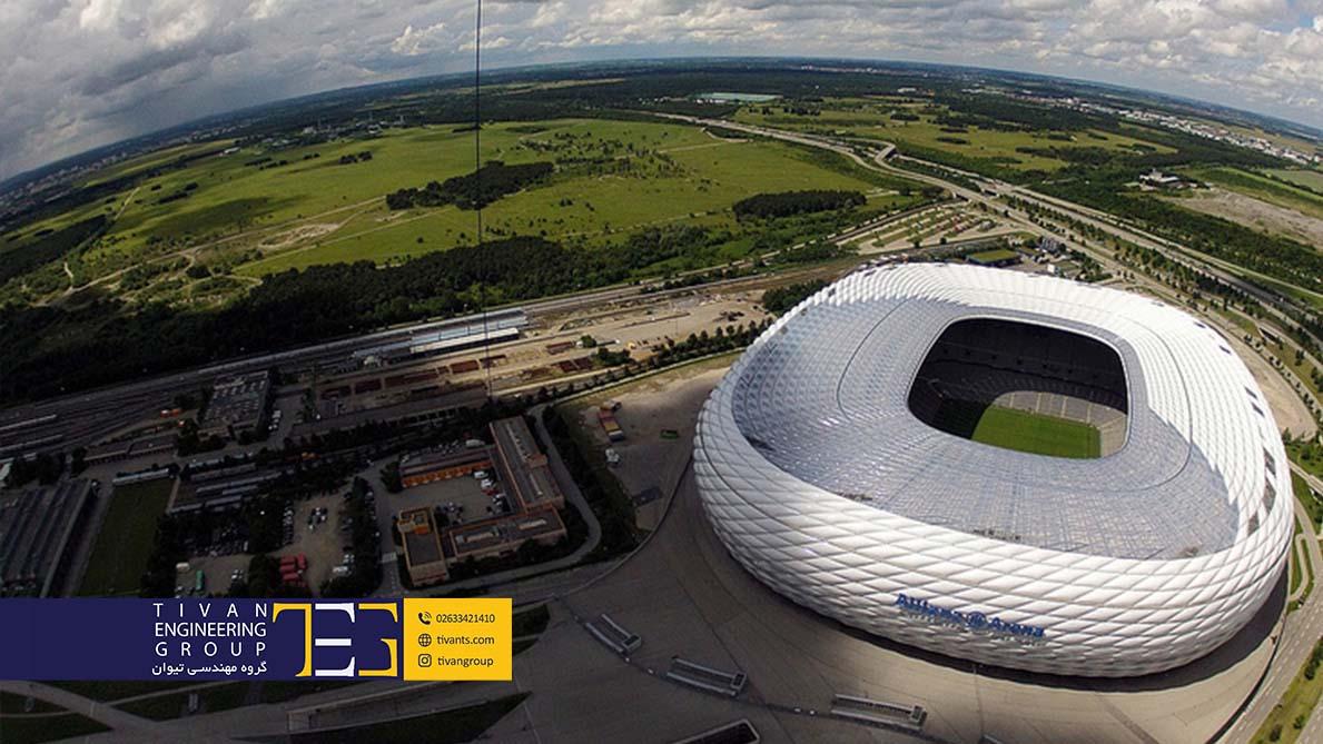 ورزشگاه آلیانتس آرنا مونیخ آلمان