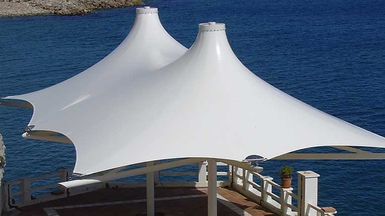 آلاچیق های چادری با طراحی خاص
