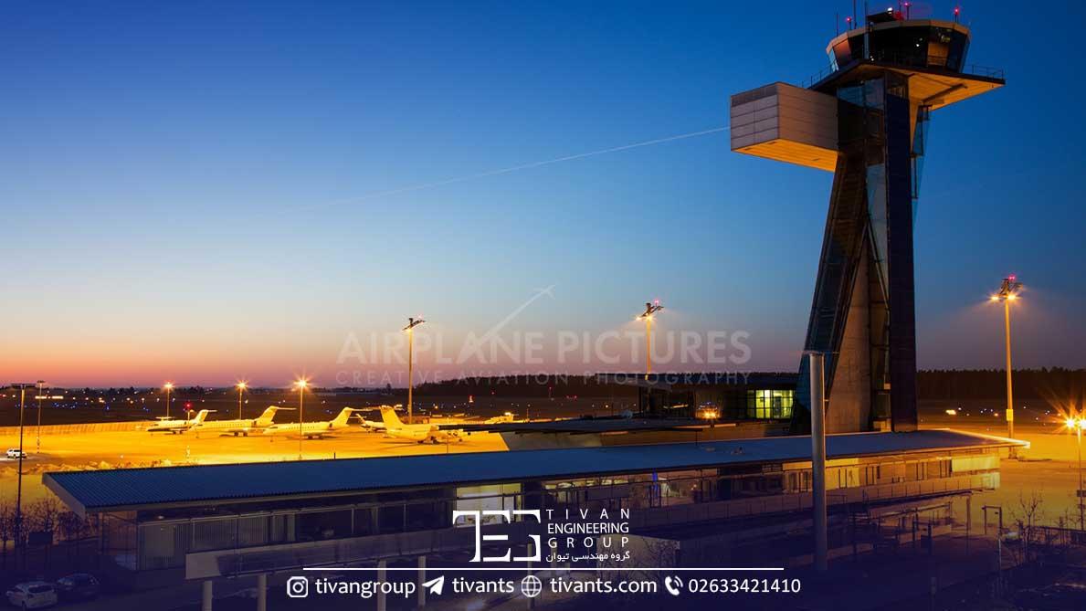 برج مراقبت هواپیما آلمان