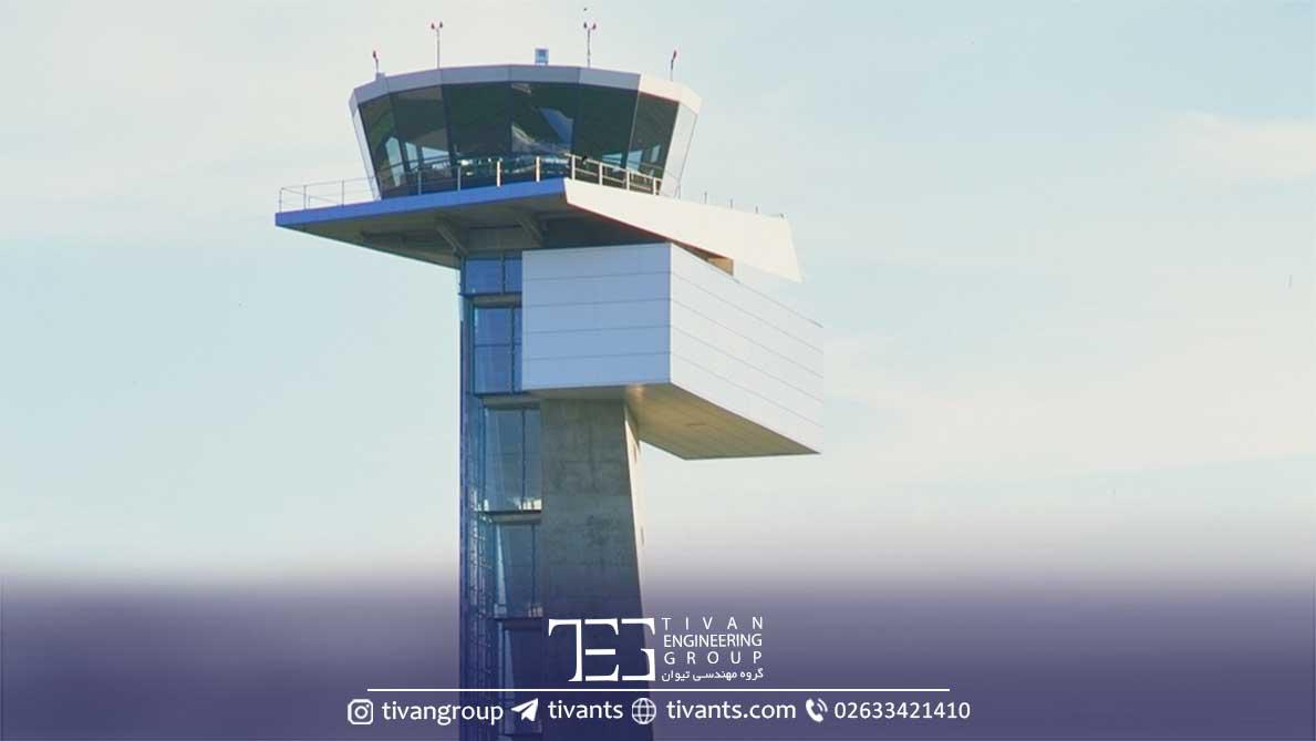برج کنترل فرودگاه آلمان طراح گانتر بنیش