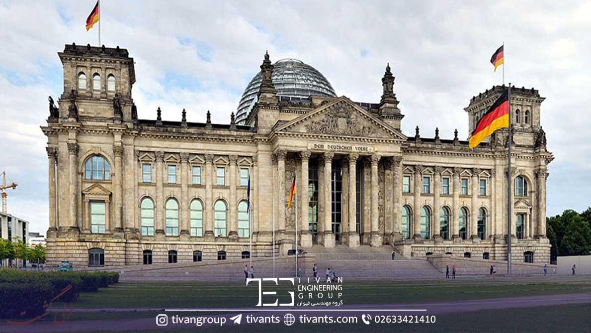 ساختمان پارلمان آلمان طراحی گانتر بنیش