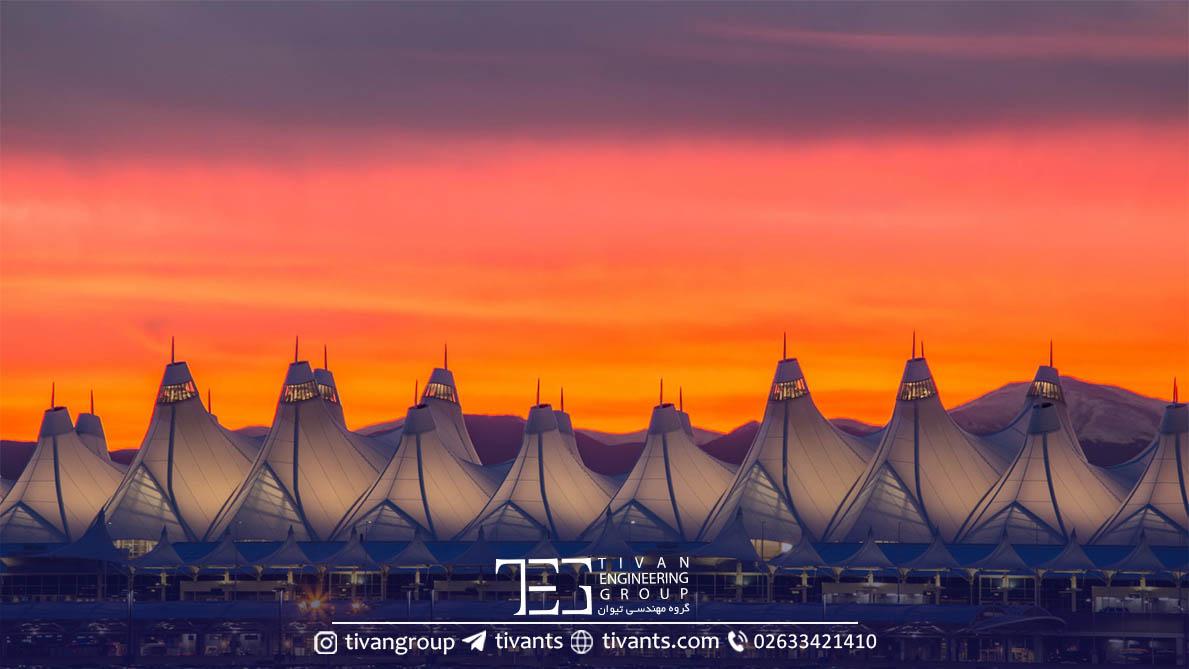 فرودگاه دنور در آمریکا