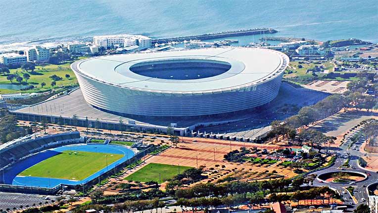 ورزشگاه آفریقا جنوبی کیپ تاون