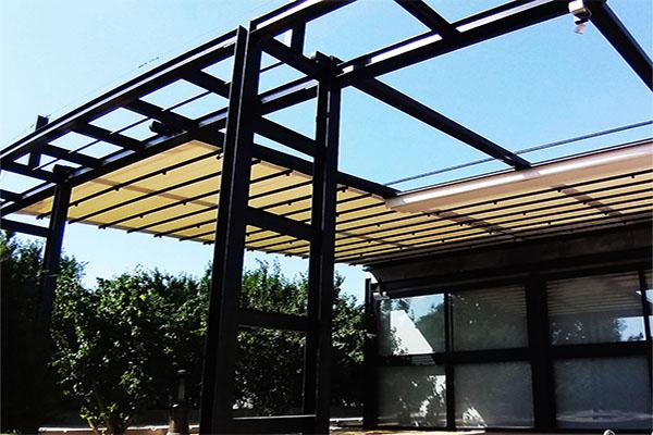 سقف متحرک استخر شهریار