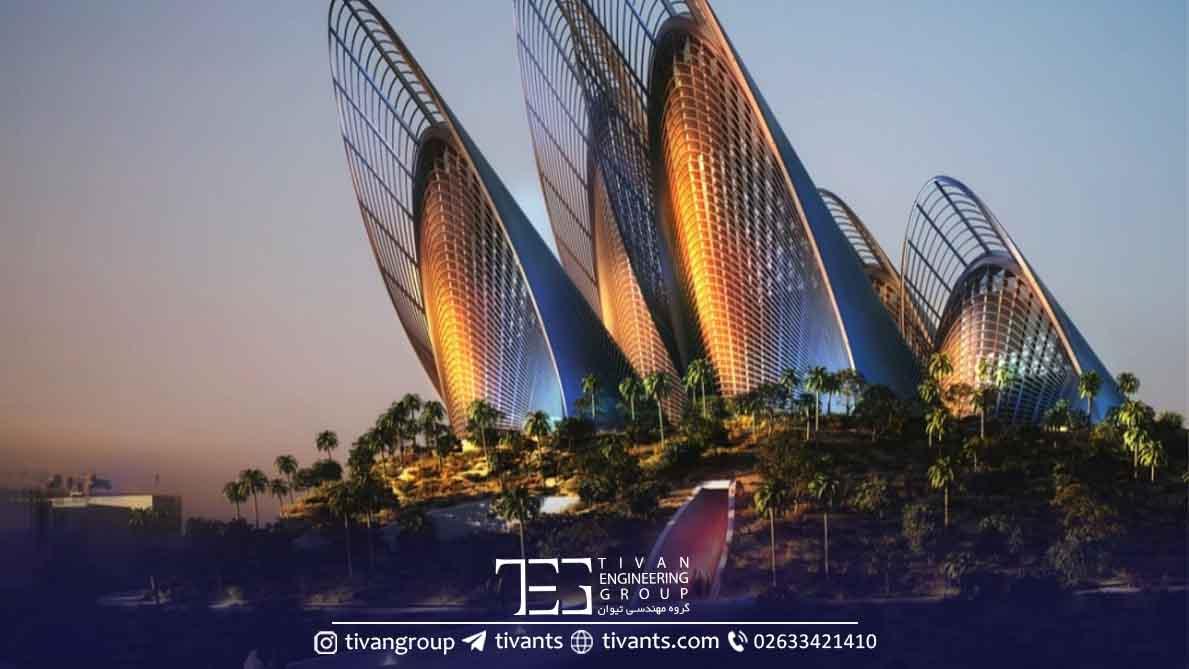 سازه های خاص در معماری