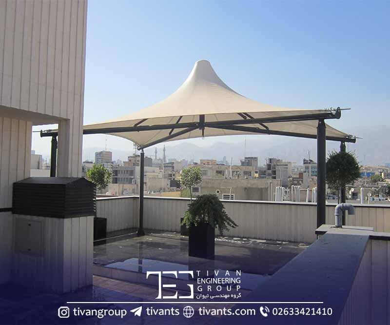 سازه کششی تهران