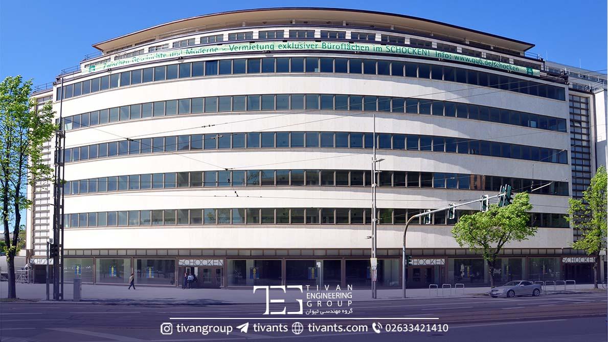ساختمان طراحی شده کارلو وبر