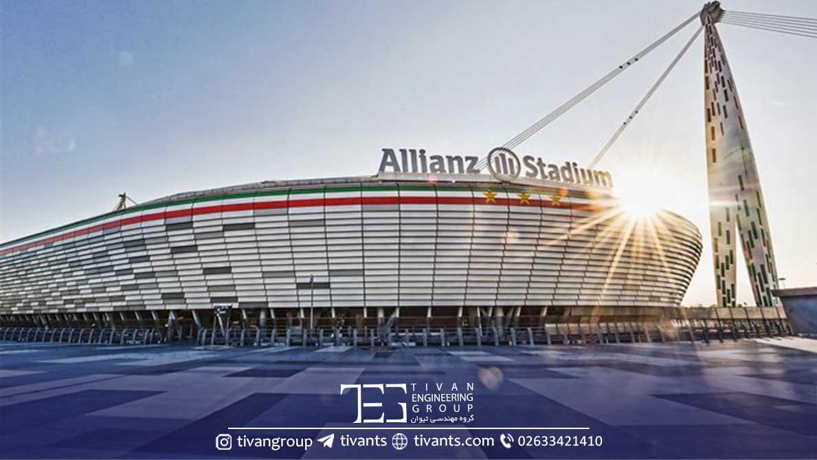استادیوم ایتالیا با سازه منحصربرد